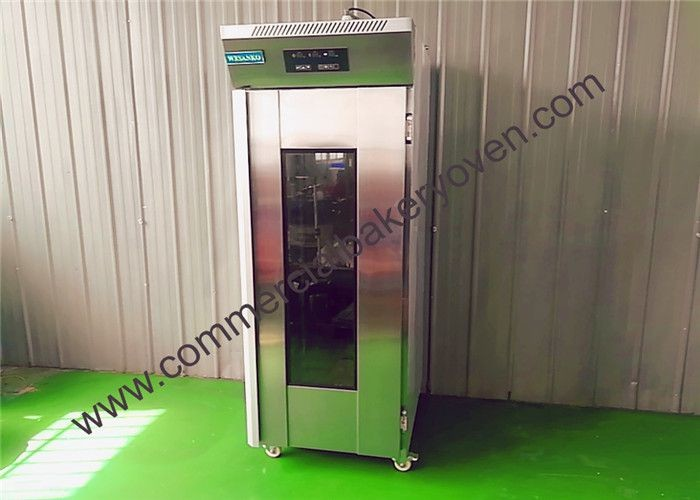 50kg Bread Proofing Machine , Temperature Adjustable Dough Fermentation Machine